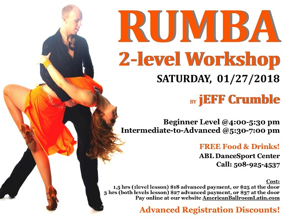 Rumba Workshop with Jeff 1/27/2018
